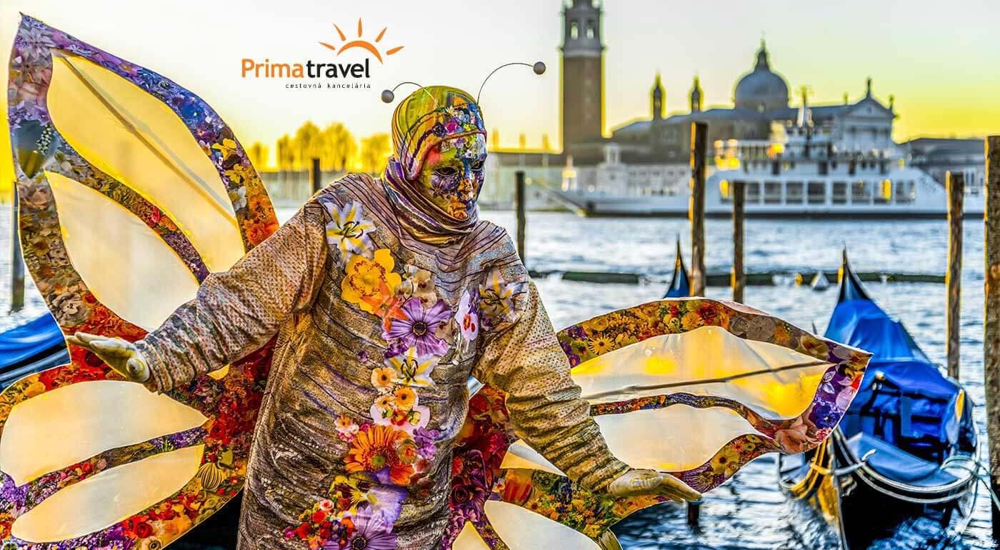 Benátky: Zažite karneval a prezrite si stredoveké mesto milencov Verona počas 4-dňového zájazdu