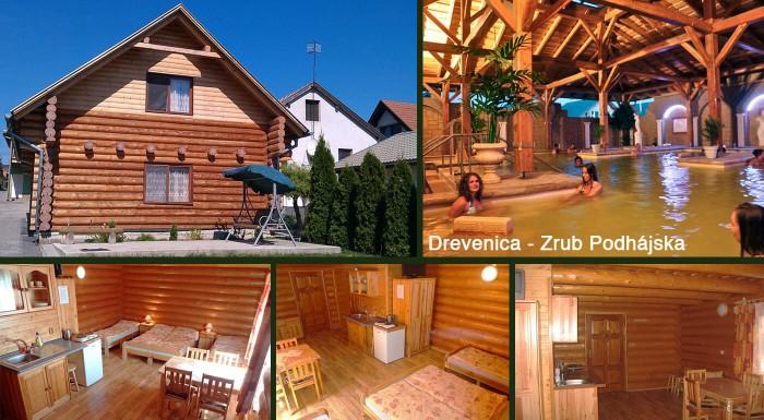 Vedeli ste, že v termálnom kúpalisku Podhájska majú liečivú vodu? Ubytujte sa v neďalekej Drevenici, ktorá má podobu horského zrubu a užite si liečivé kúpanie a pohodovú slovenskú dovolenku.