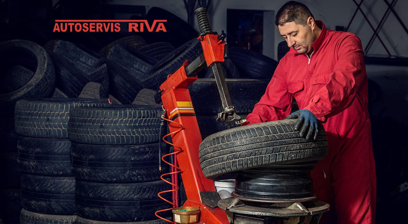 Prezutie pneumatík vrátane vyváženia kolies v Lamači