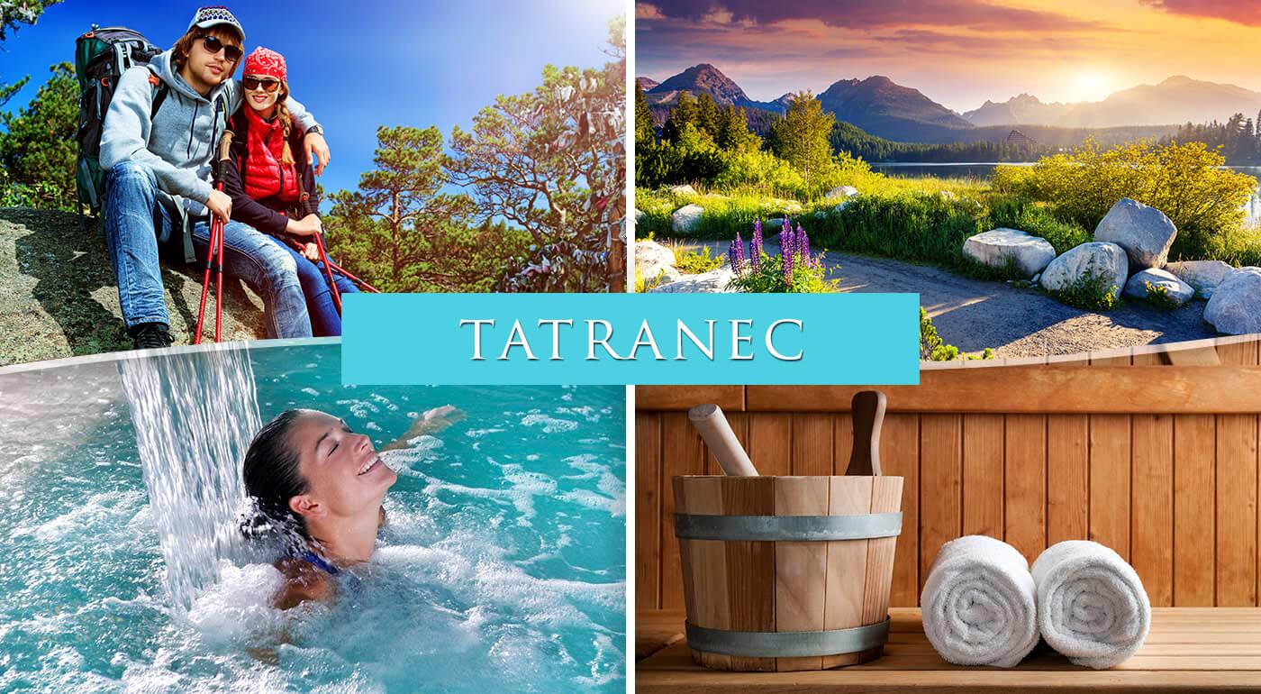 Vysoké Tatry: Pohodový pobyt v Hoteli Tatranec v Tatranskej Lomnici