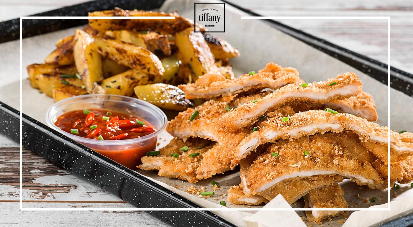 Tiffany Favorite Food a Tiffany Fresh Banská Bystrica - burger, palacinky, rezeň aj šalát - vyberie si každý