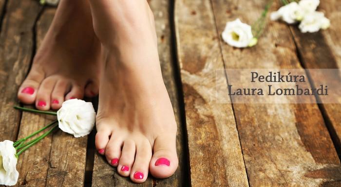 Zľava 34%: Vaše nohy dostávajú zabrať každý deň. Venujte im preto profesionálnu starostlivosť a odskočte si na pedikúru do salónu Laura Lombardi. Budete mať opäť chodidlá ako bábätko.