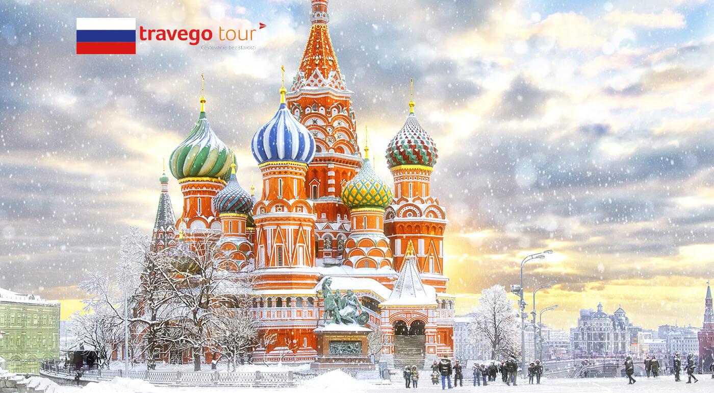 Rusko počas rozprávkovej zimy alebo Moskva na víkendovom zájazde