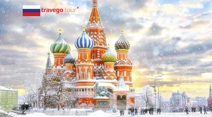Zľava 38%: Atmosféru rozprávkovo zasneženého Moskvy v zime vám nepriblíži ani Mrázik! Zažite na vlastné oči kopce snehu, výzdobu a klziská, jednoducho pravú zimu v Rusku počas 4-dňového víkendového zájazdu.