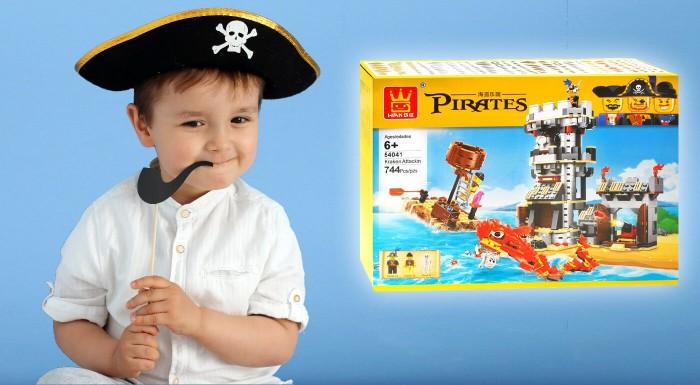 Stavebnica pre deti Piráti