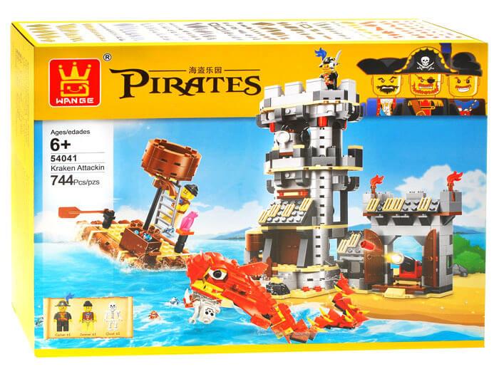 Detská stavebnica Piráti (744 dielikov)