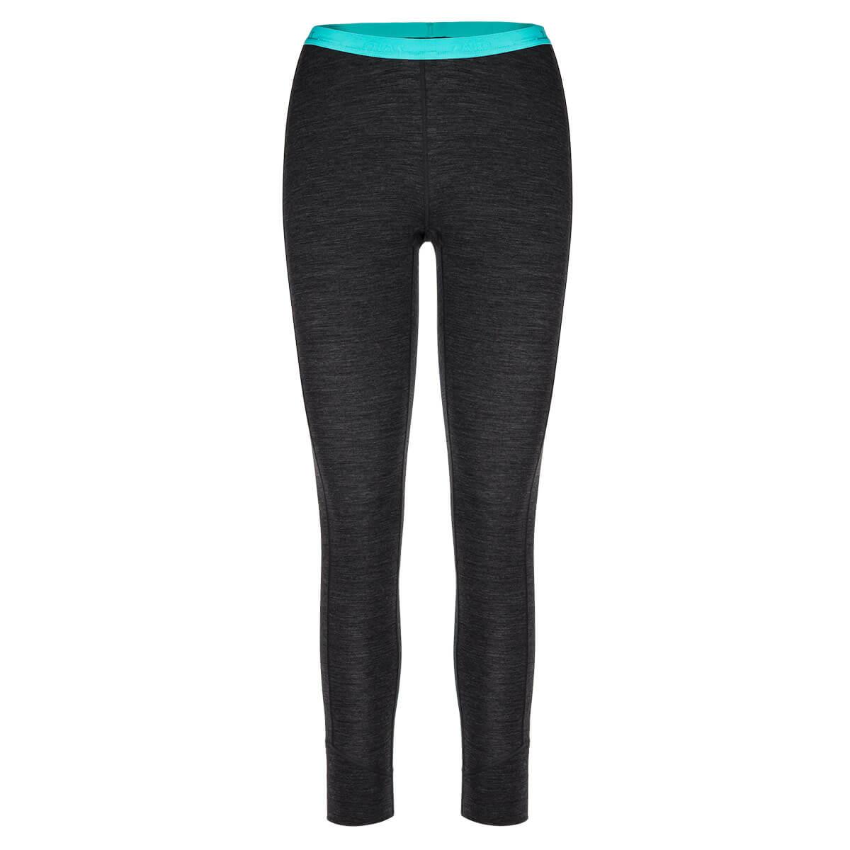 Dámske spodné prádlo Zajo Elsa Merino Nylon W Pants Black - veľkosť XL