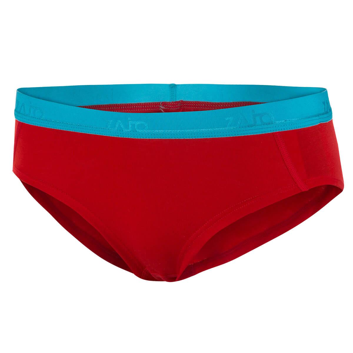 Dámske spodné prádlo Zajo Elsa Merino Nylon W Briefs Racing Red - veľkosť XS