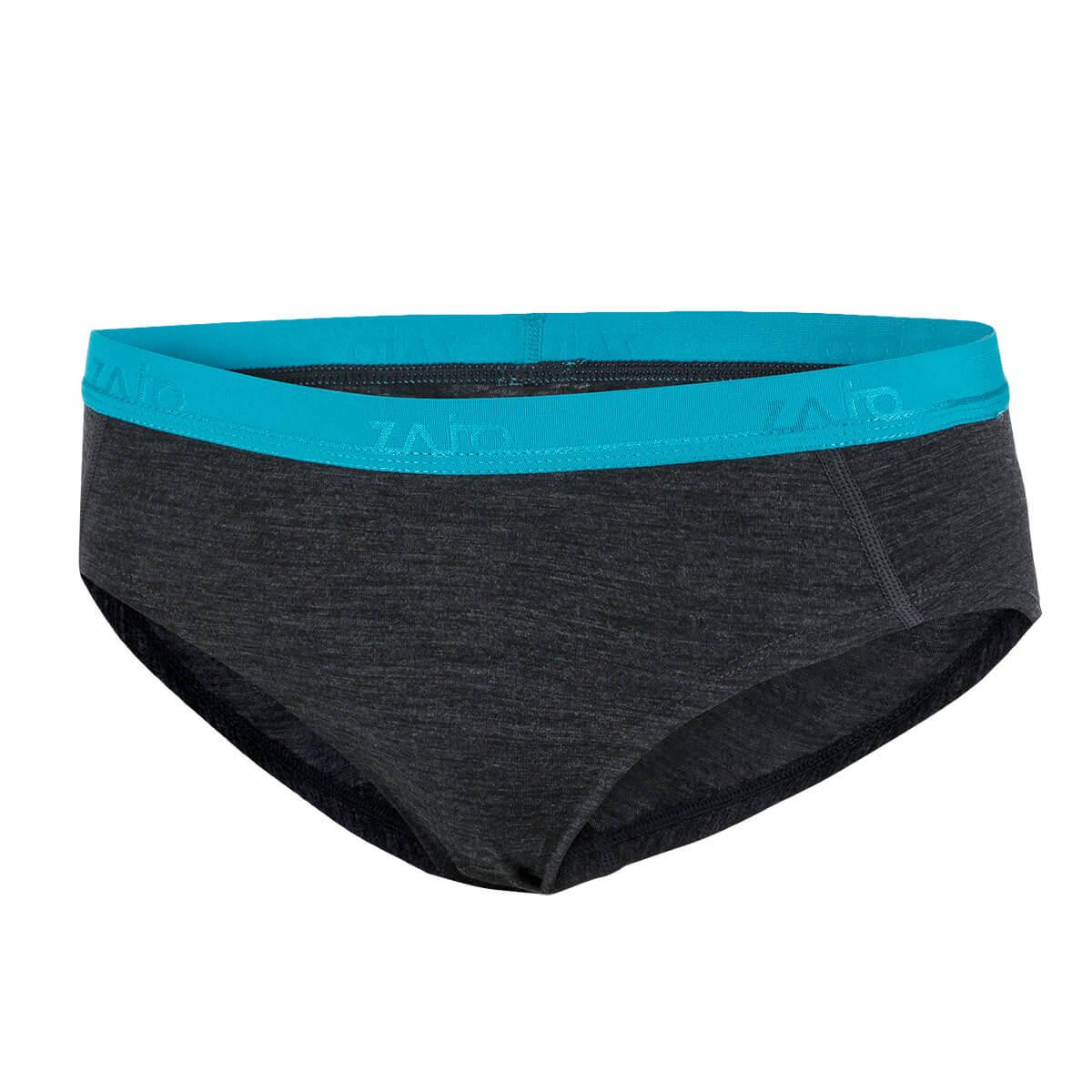 Dámske spodné prádlo Zajo Elsa Merino Nylon W Briefs Black - veľkosť XS