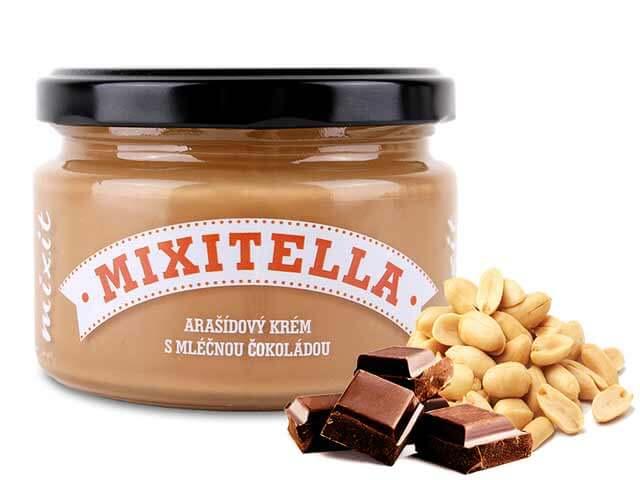 MIXIT Mixitella arašidová s mliečnou čokoládou 250 g