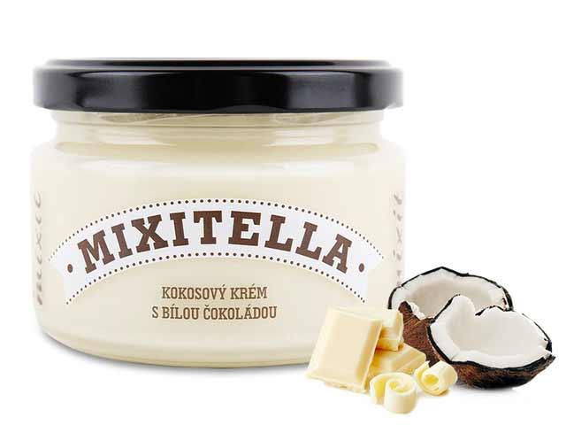 MIXIT Mixitella - kokos s bielou čokoládou 250 g
