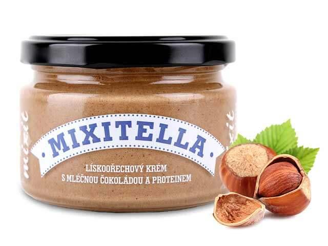 MIXIT Mixitella - lieskový orech s mliečnou čokoládou a proteínom 250 g
