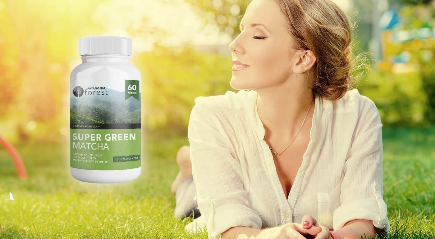 Prírodný antioxidant Super Green Matcha