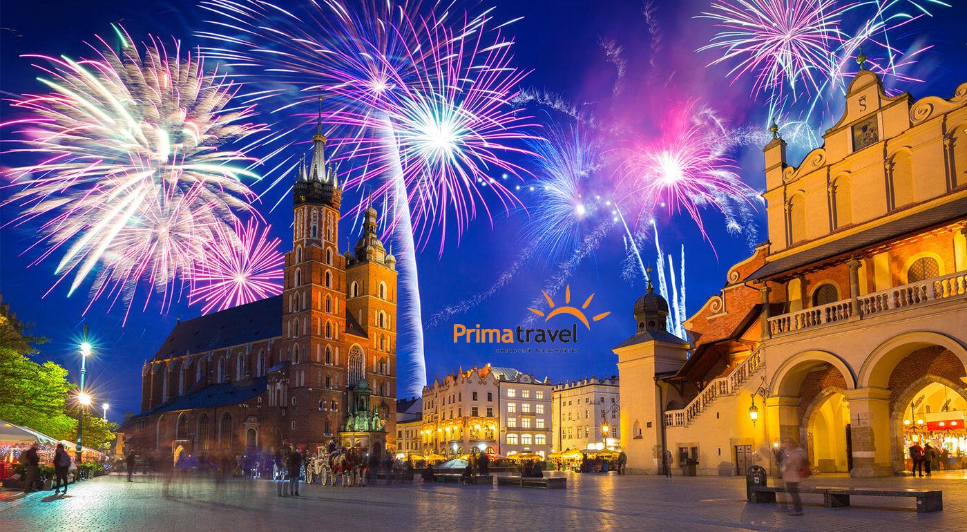 Poľsko: Silvester v Krakowe, čarovné Zakopané a novoročný wellness v aquaparku