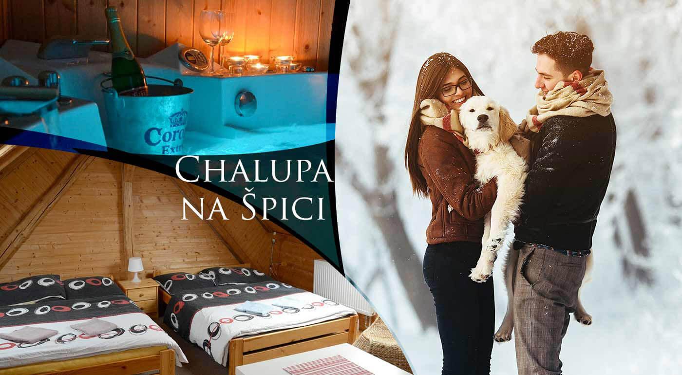Zimná lyžovačka a wellness v Chalupe na Špici v Českomoravskej vrchovine