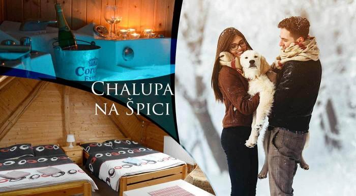 Spojte lyžovačku s relaxom v súkromom wellness - užite si pohodové chvíle v Chalupe na Špici v dedinke Oudoleň v krásnej prírode Českomoravskej vrchoviny. V cene je privátna sauna aj vírívka.