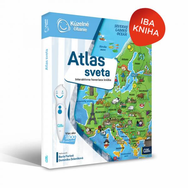 ALBI Kúzelné čítanie: kniha Atlas sveta