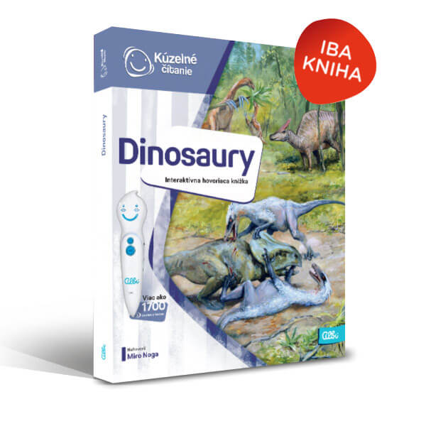 ALBI Kúzelné čítanie: kniha Dinosaury