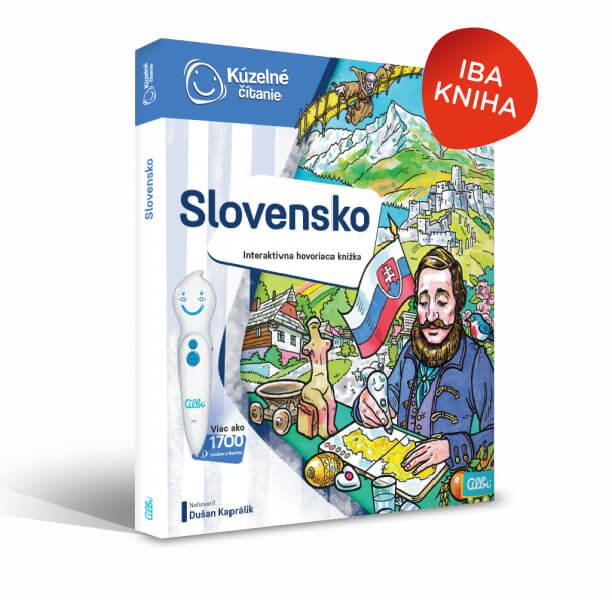 ALBI Kúzelné čítanie: kniha Slovensko
