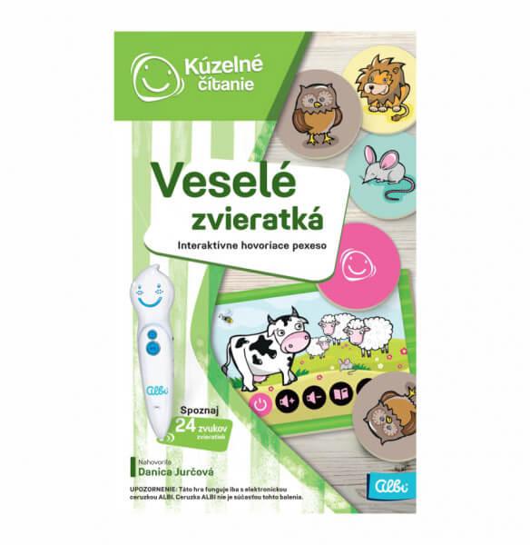 ALBI Kúzelné čítanie: Hra pexeso - Veselé zvieratká
