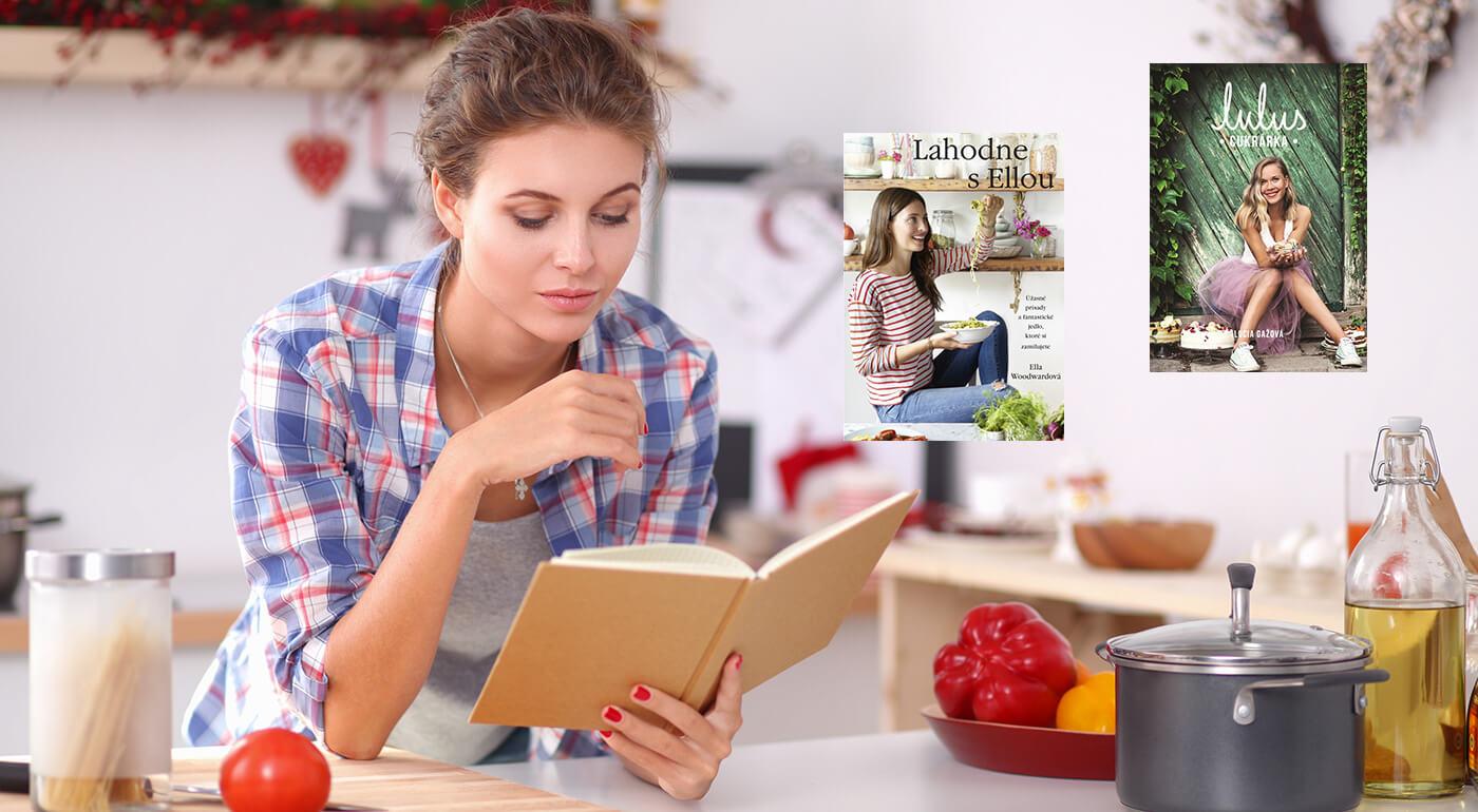 Kuchárske knihy plné inšpiratívnych receptov a tipov na varenie