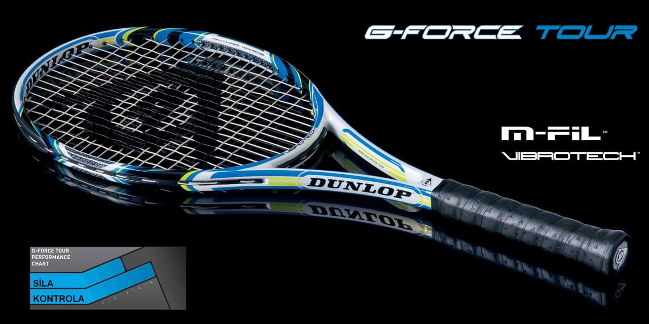 Dunlop G-Force Tour Tenisová raketa + DARČEK omotávka Revelation NT Overgrip