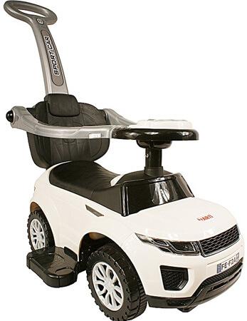 Detské odrážadlo Sport Car Deluxe - biele