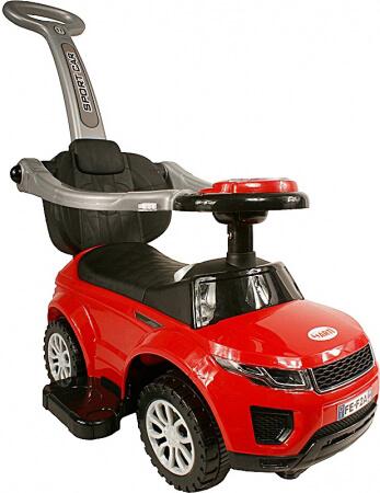 Detské odrážadlo Sport Car Deluxe - červené