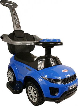 Detské odrážadlo Sport Car Deluxe - modré