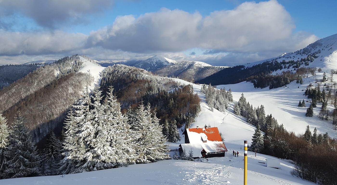 Skialp Veľká Fatra (výstup na Borišov)- aktívny pobyt v horách s ochutnávkou bio vín a polpenziou