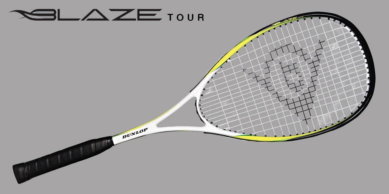 Squashová raketa Dunlop Blaze Tour + loptička PRO ako DARČEK