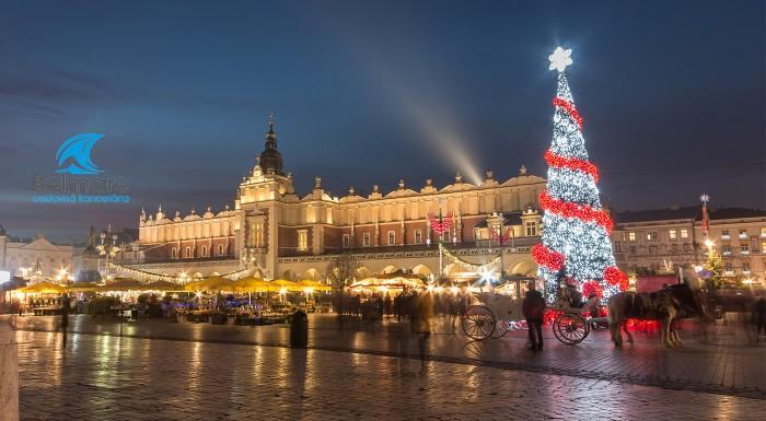 Predvianočný Krakow počas jedného dňa