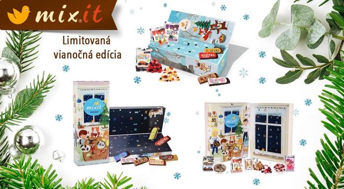Limitiovaná vianočná edícia MIXIT