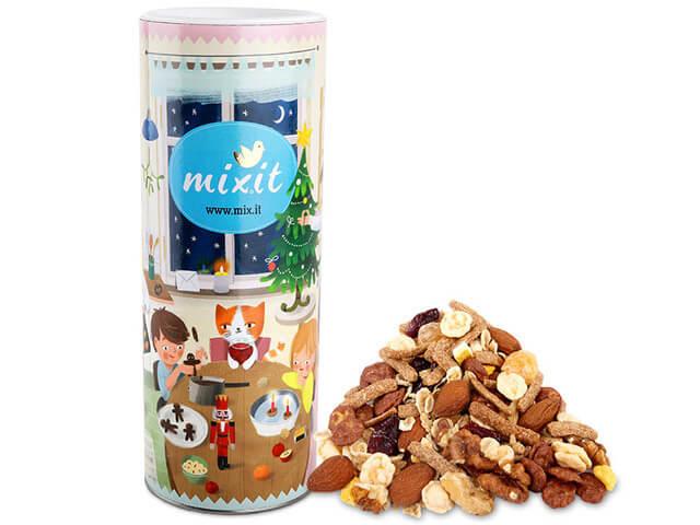 Mixit Vianočný mix 650 g raňajkové müsli