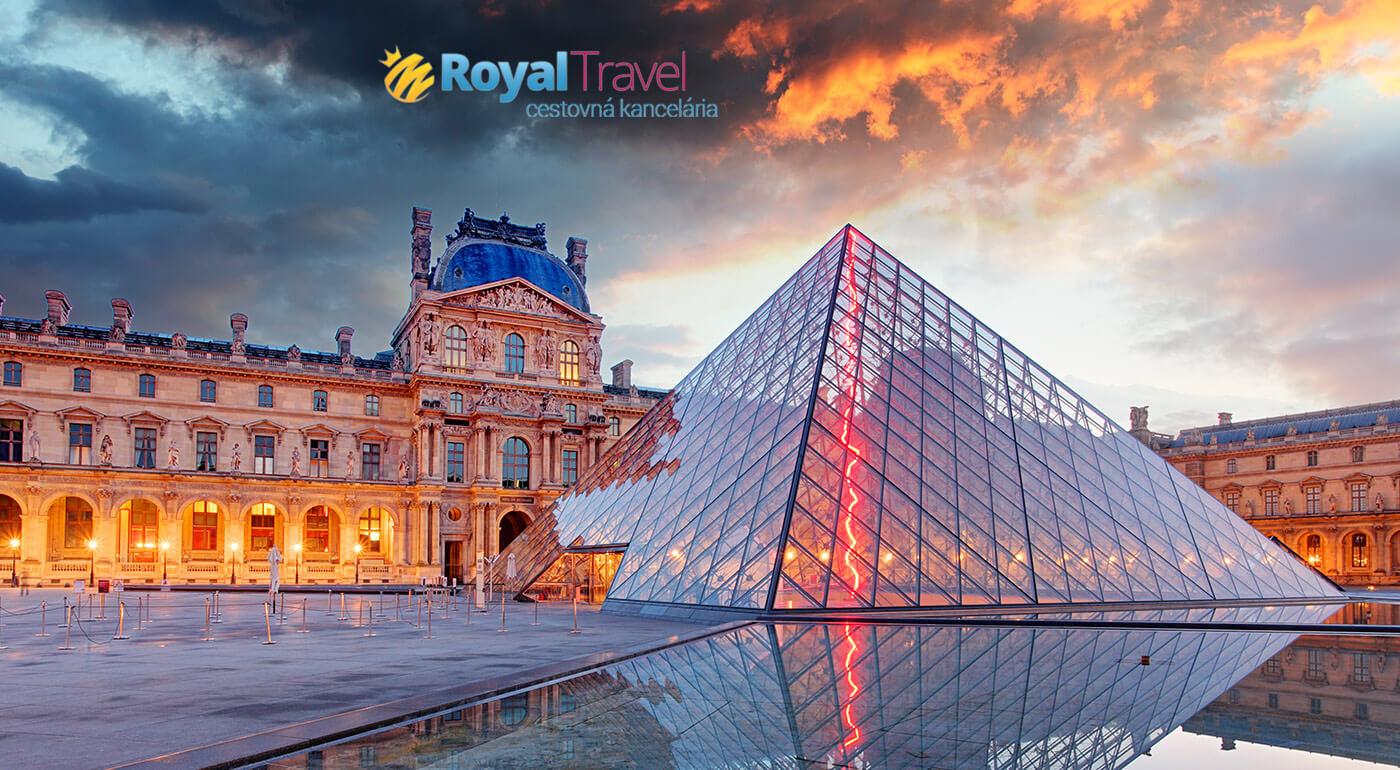 Paríž letecky na 4 dni z Bratislavy