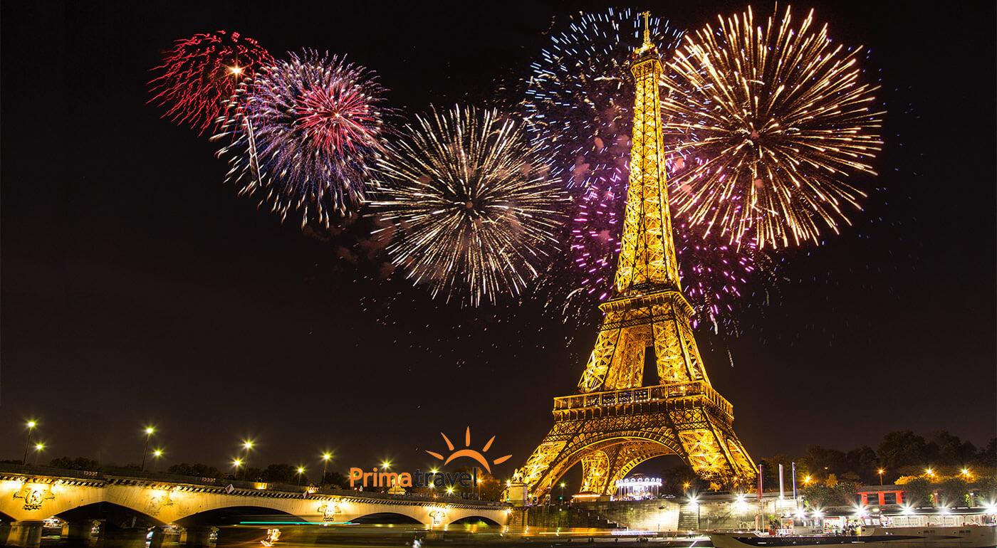 Paríž: vychutnajte si Silvester a oslavy Nového roka na 5-dňovom zájazde