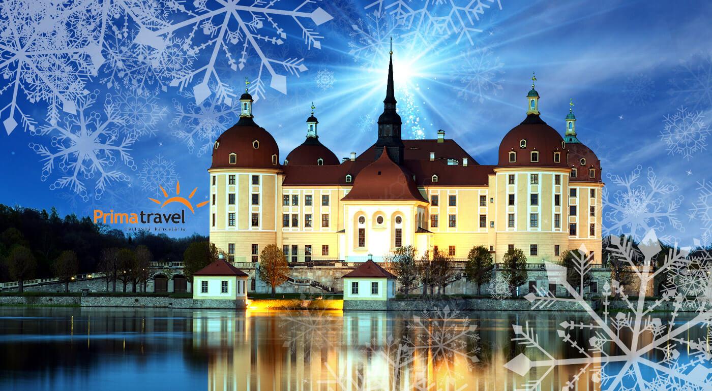 """Nemecko, Drážďany: Najstaršie vianočné trhy a slávny """"Popoluškin"""" zámok Moritzburg počas 2-dňového zájazdu"""