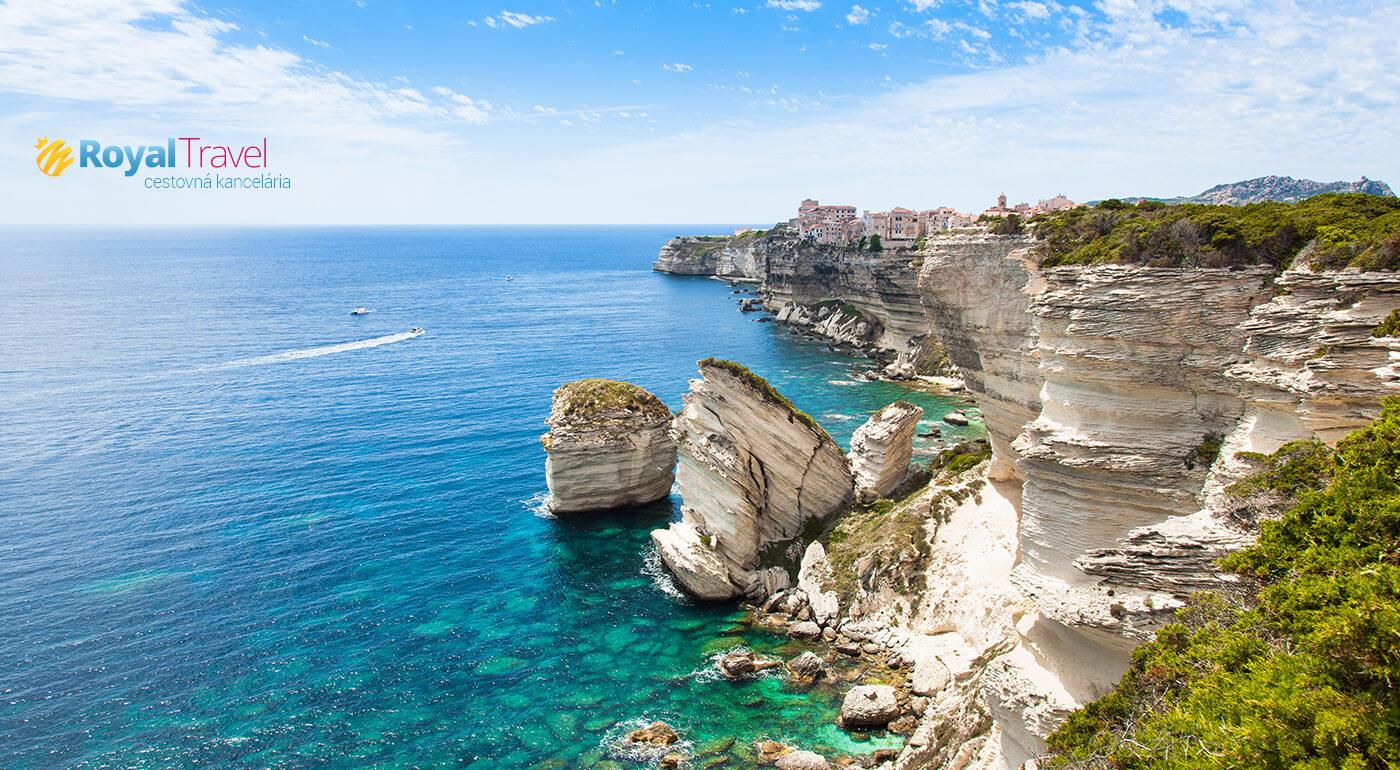Malebná Sardínia a divoká Korzika: 5-dňový poznávací zájazd na sezónu 2019