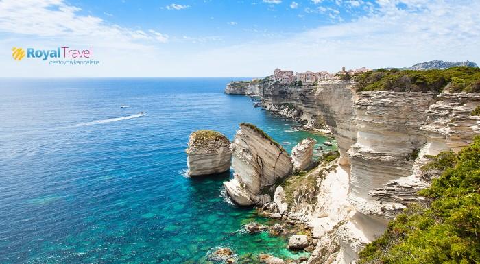 Letecký zájazd na Sardíniu a Korziku