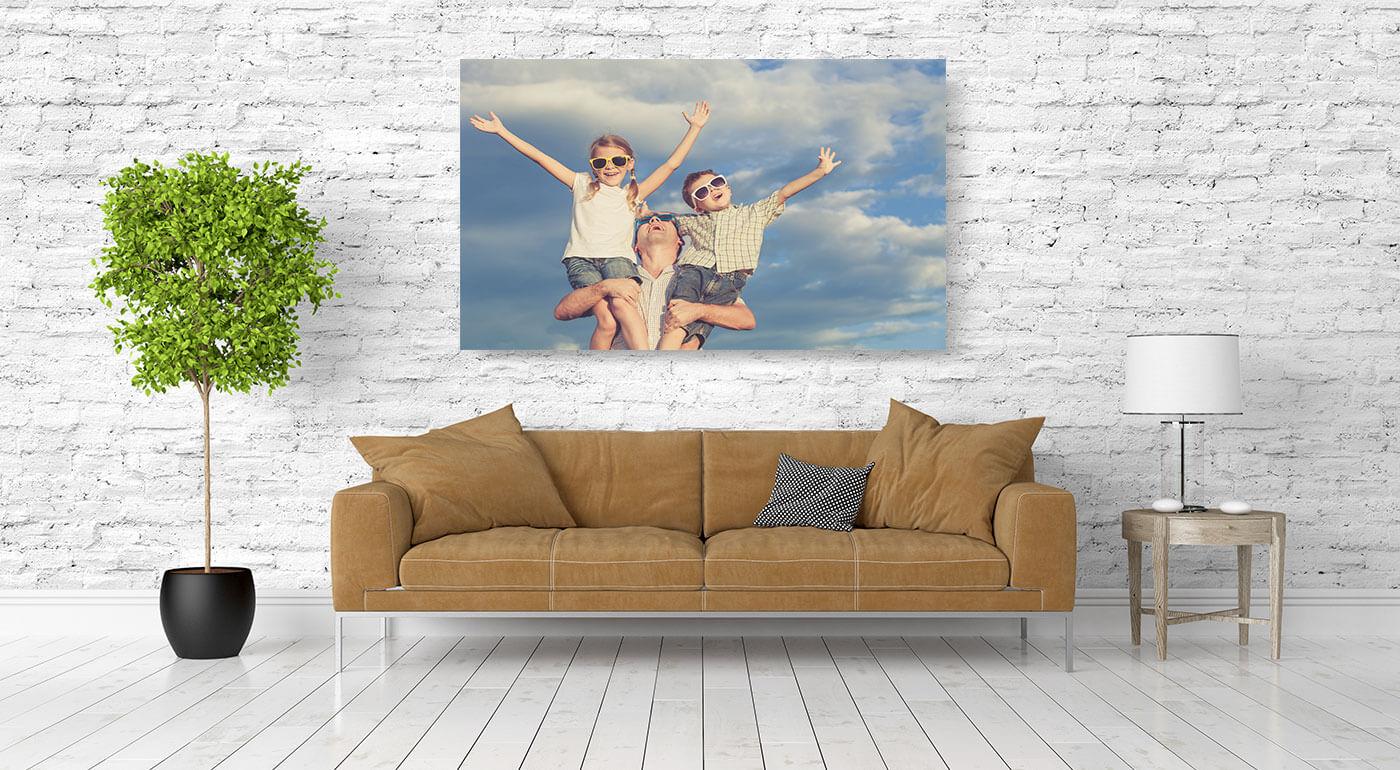 Obraz na plátne s fotografiou podľa vlastného výberu - doplnok, ktorý zaručene nemá nikto iný!