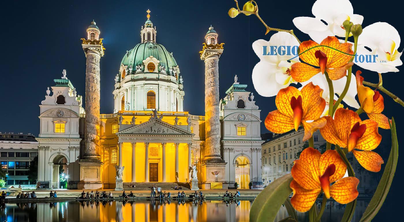Rakúsko: Výstava orchideí Klosterneuburg a prehliadka mesta Viedeň