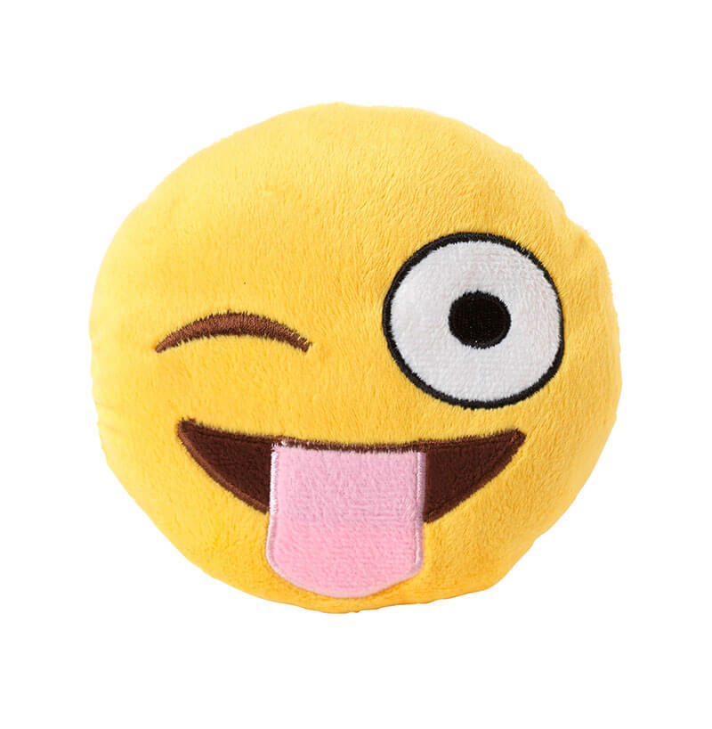 FuzzYard Emoji Tongue out Hračka pre psa