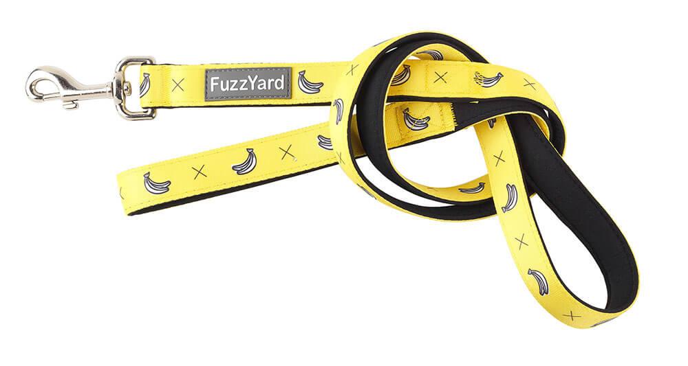 Neoprénové vodítko pre psa FuzzYard Monkey Mania - veľkosť S