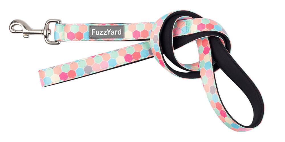 Neoprénové vodítko pre psa FuzzYard The Hive - veľkosť S