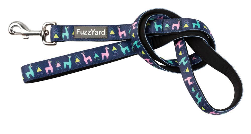 Neoprénové vodítko pre psa FuzzYard No Probllama - veľkosť L