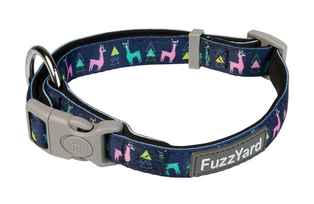 Neoprénový obojok pre psa FuzzYard No Probllama - veľkosť L