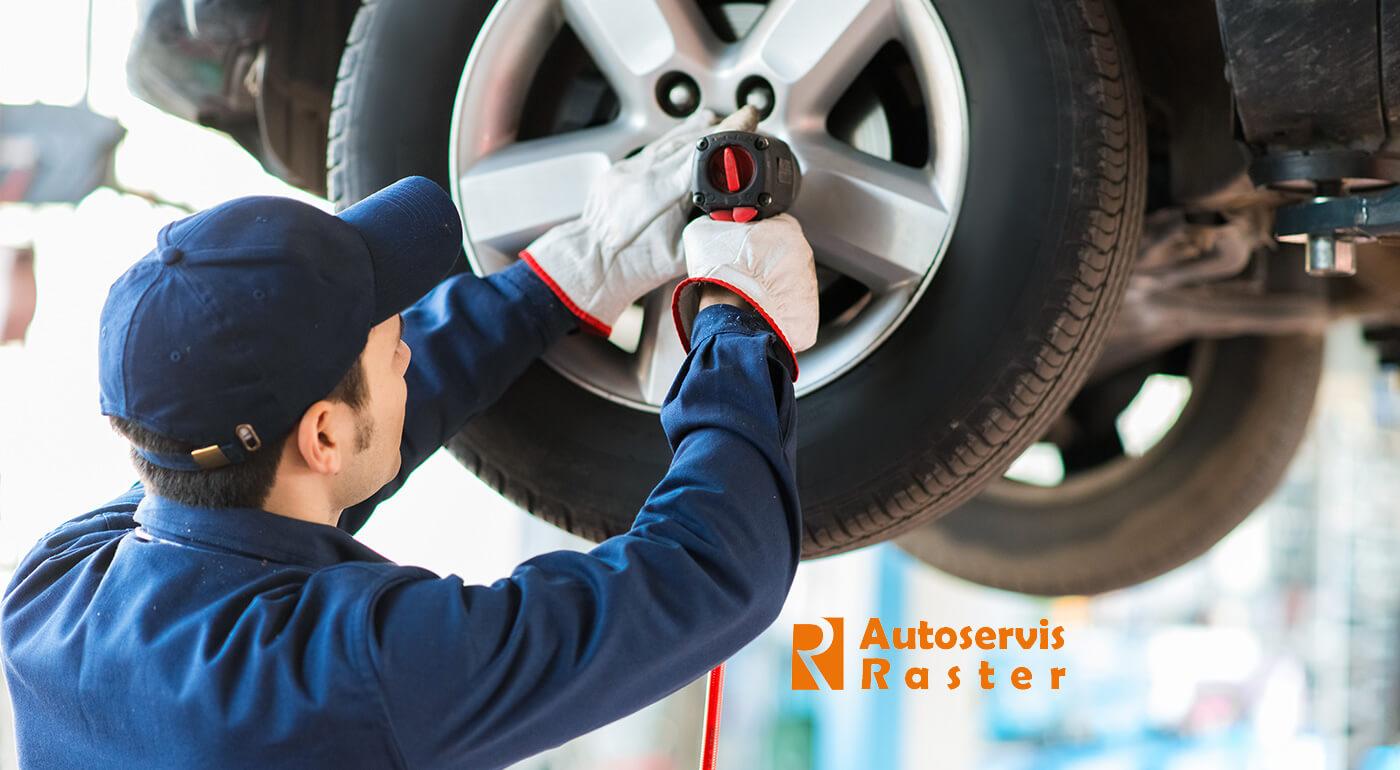 Kompletné prezutie pneumatík alebo ich uskladnenie vo Zvolene