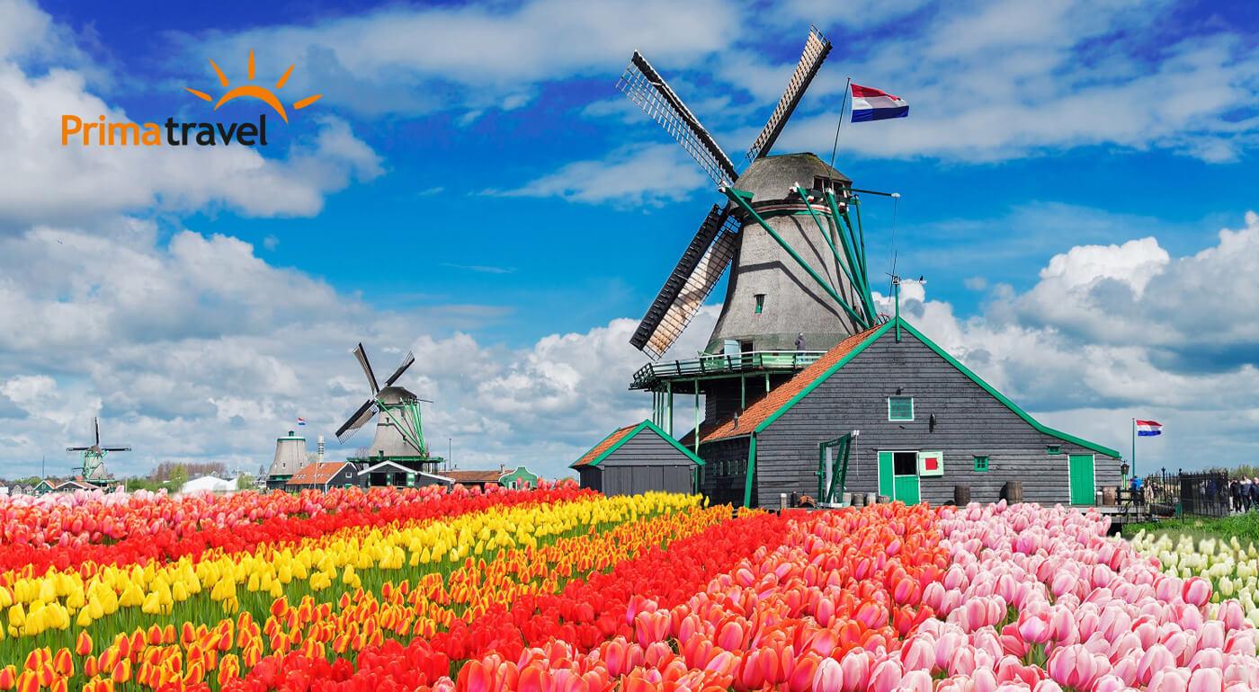 Holandsko: 4-dňový zájazd s návštevou metropoly Amsterdam a jedinečnej kvetinovej výstavy Keukenhof