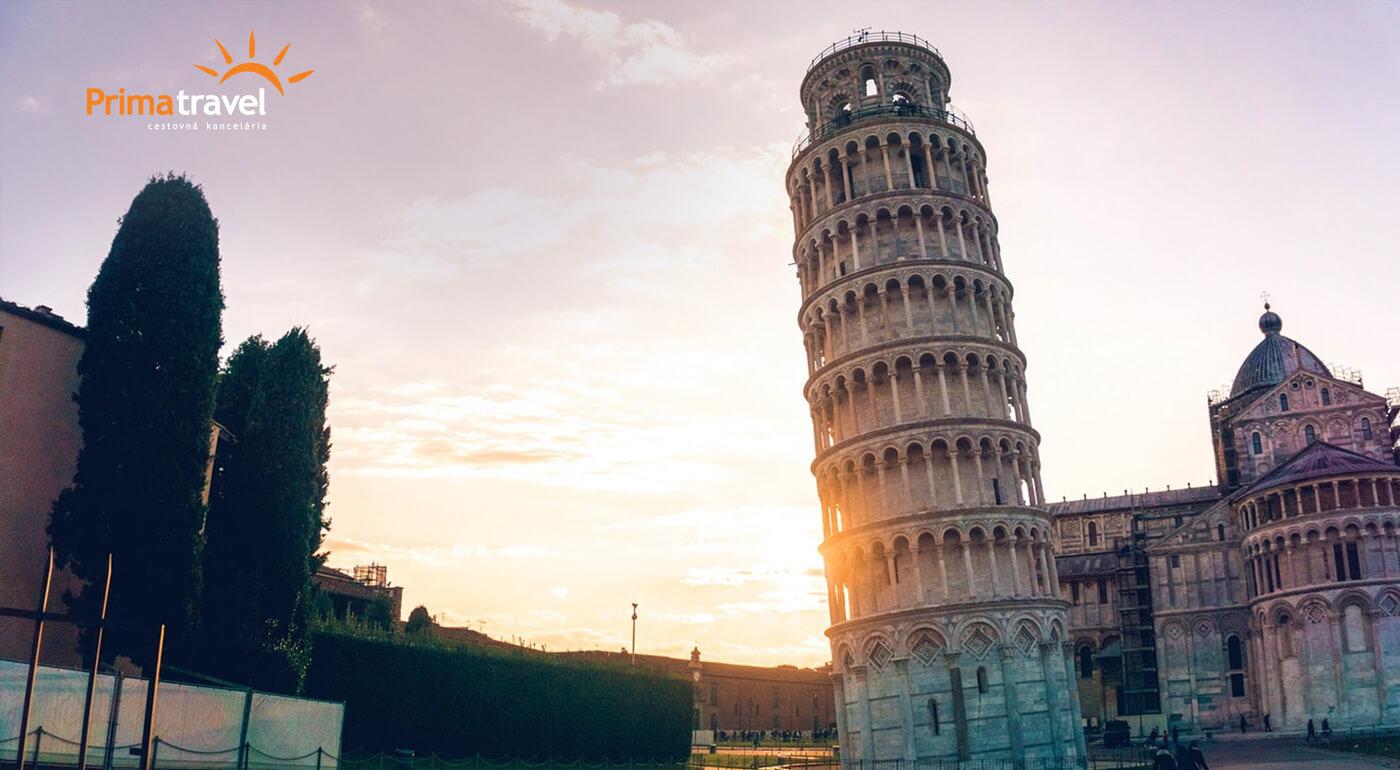 Toskánsko: 5-dňový zájazd do romantickej talianskej oblasti s ubytovaním a raňajkami