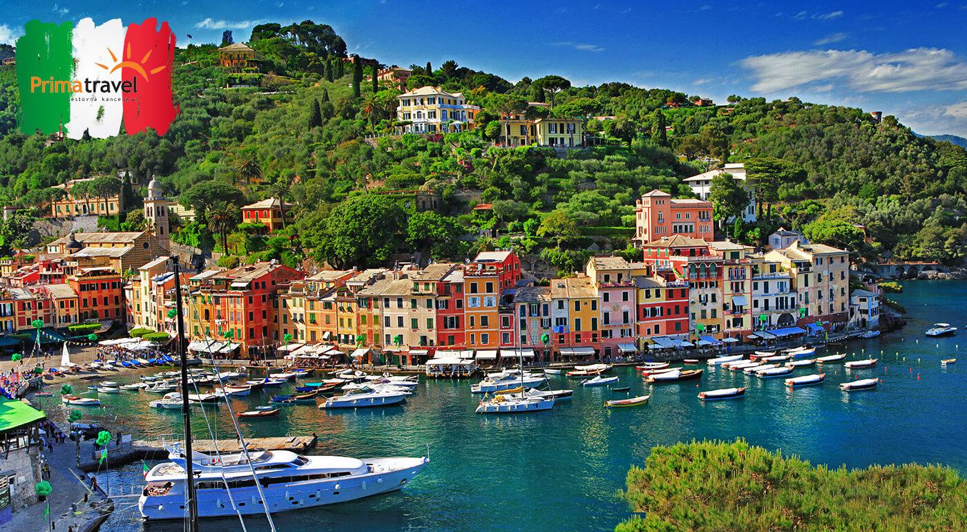 Ligúrska riviéra a Cinque Terre: 5-dňový poznávací zájazd do Talianska do raja kvetov, paliem a farebných domčekov